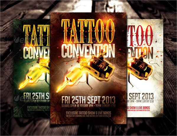 Best Tattoo Parlour Flyer Template