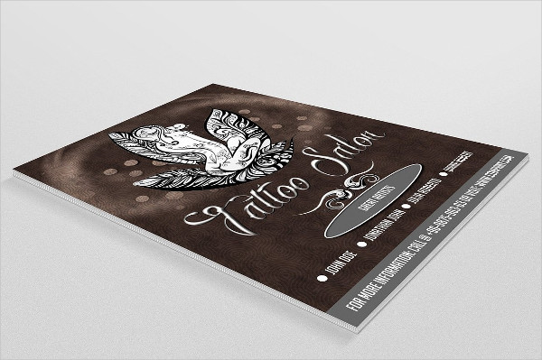 Awesome Tattoo Shop Flyer Template