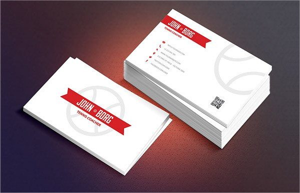 Professional Design Sport Business Cards
