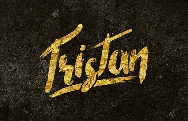 Tristan Brush Font