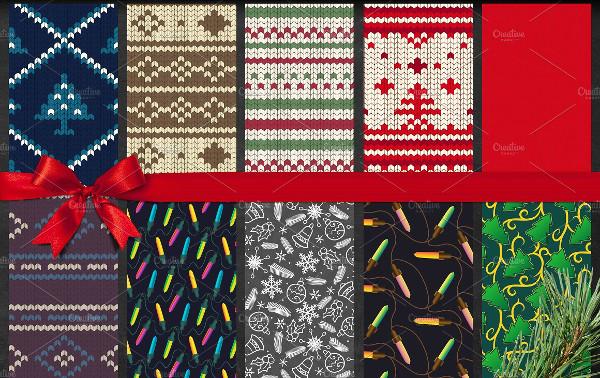 50 Vintage Christmas Patterns