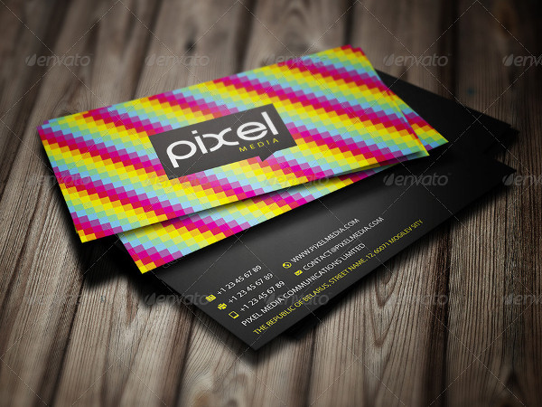 25 rainbow business card templates free premium download best rainbow business cards reheart Images