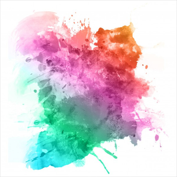 Free Download Watercolor Splatter Texture