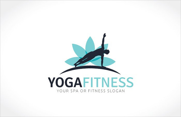 Yoga and Fitness Logo