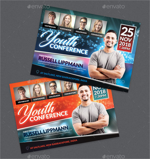 Youth Conference Church Flyer Template