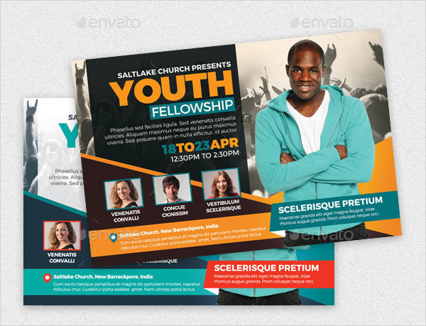 Youth Fellowship Flyer Template