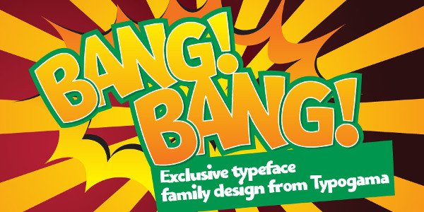 Bangbang Comic Fonts