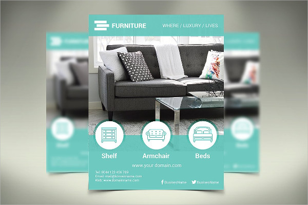 Leons Furniture Store Flyer Template