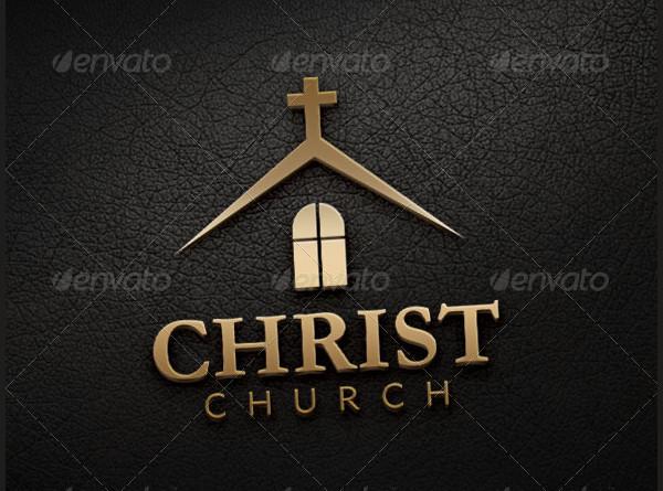 United Methodist Church Logo Design Template