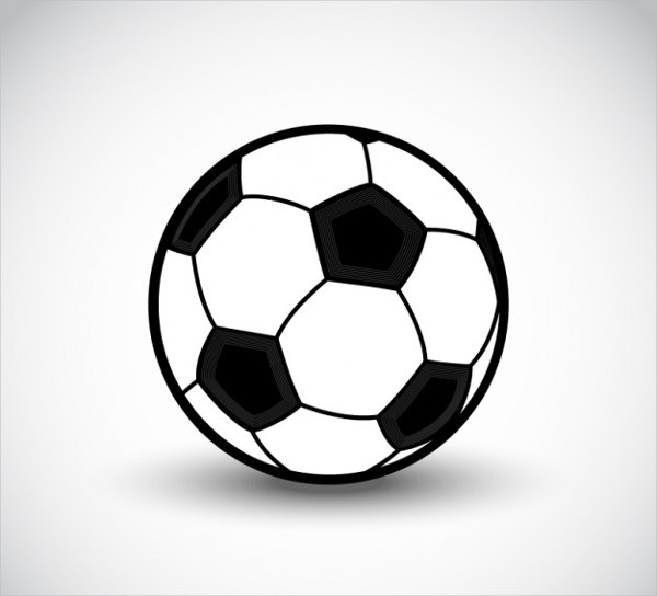 Free Vector Soccer Ball Icon