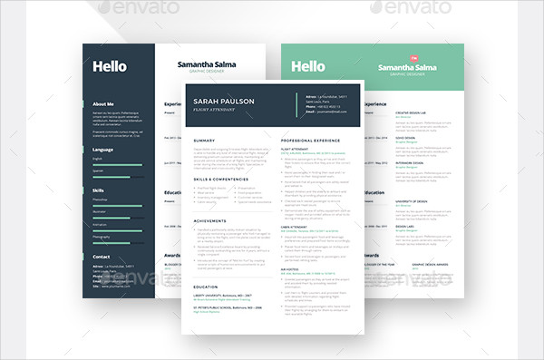 Clean Professional Resumes Bundle