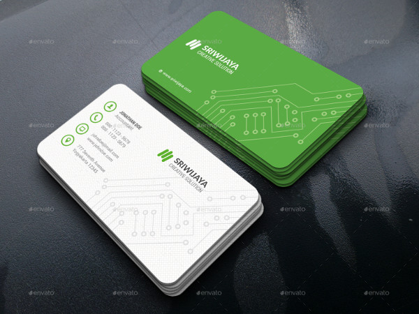 Popular Civil Engineering Business Card Template