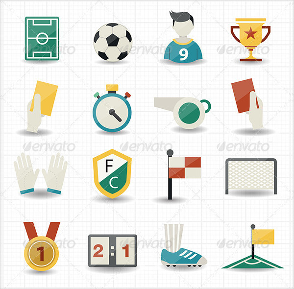 Popular Soccer Icons