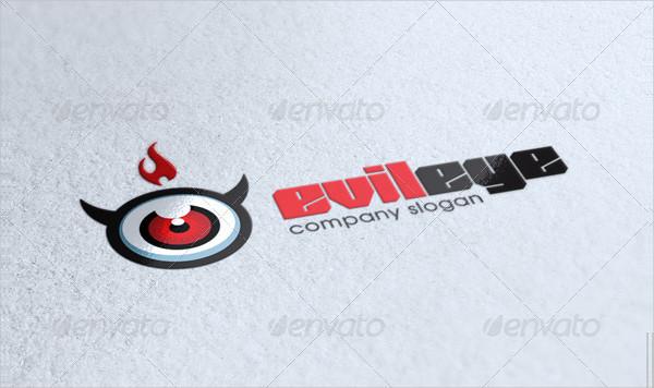 Evil Eye Logo Template