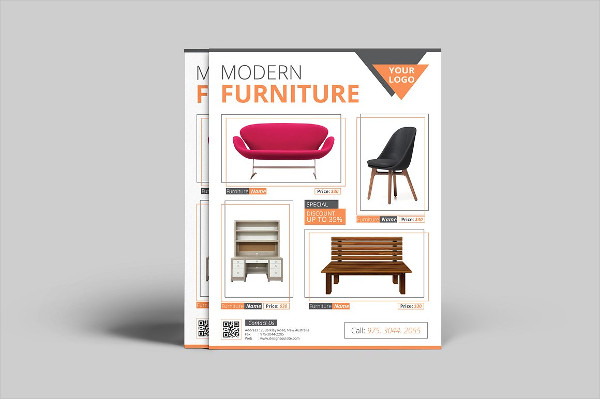 Clean Furniture Sale Flyer Template