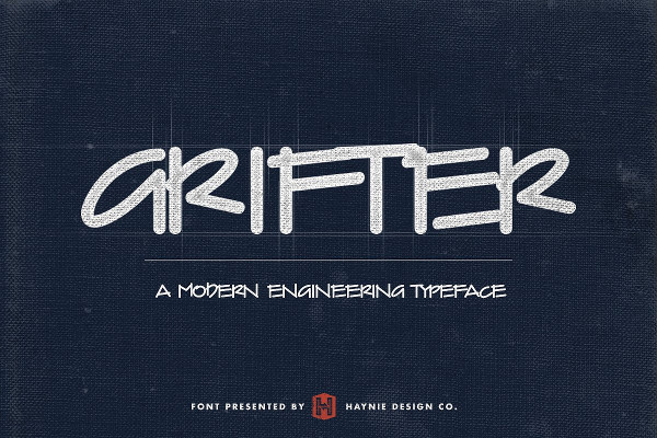 Grifter Architect Comic Font