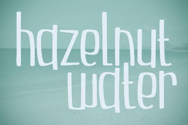 Hazelnut Comic Fonts