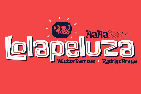 Lolapeluza Comic Family Font
