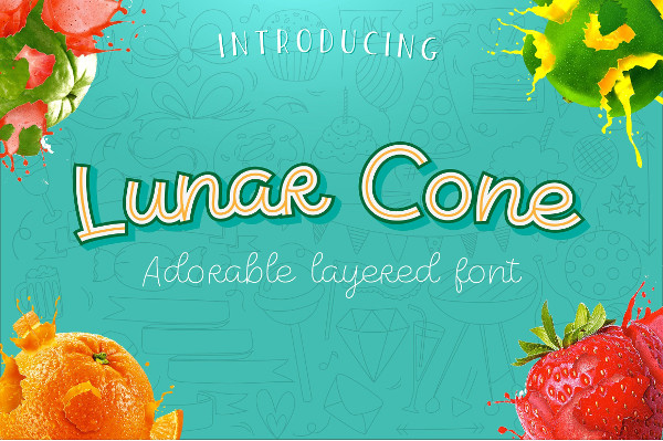 Lunar Cone Comic Font