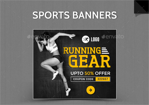 Animated Sports Banner Templates