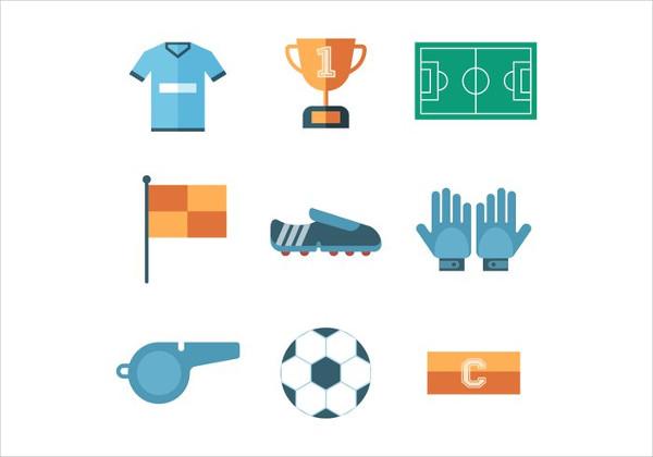 Free Soccer Icon Set Vector