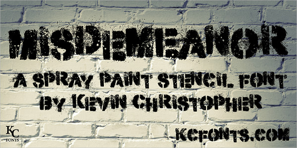 Graffiti Stencil Font Free