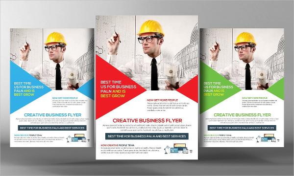 Stylish Plumbing Flyer Examples