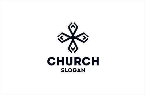 Professional Church Logo Template