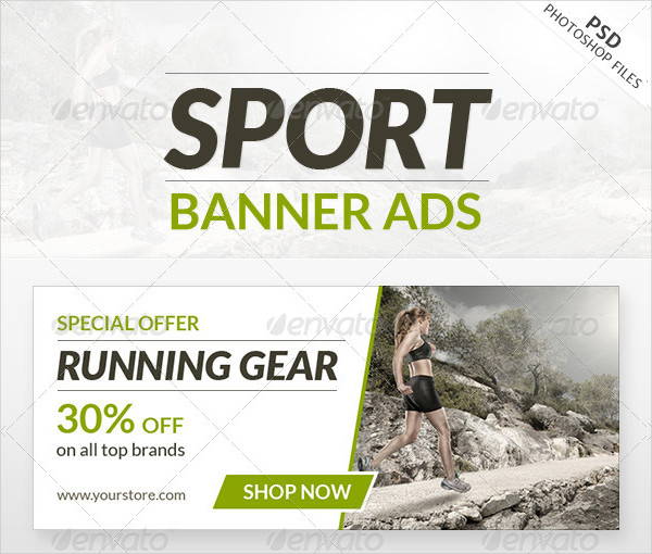 Clean Sport Web Banner Ads
