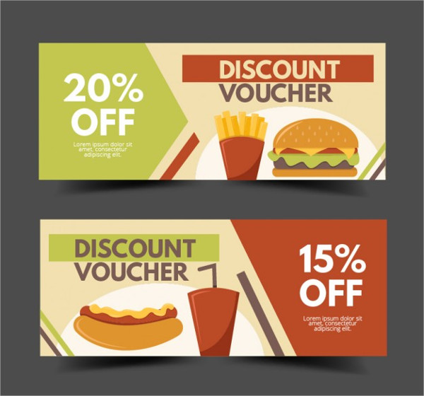 Voucher for Fast Food Restaurant Free Download