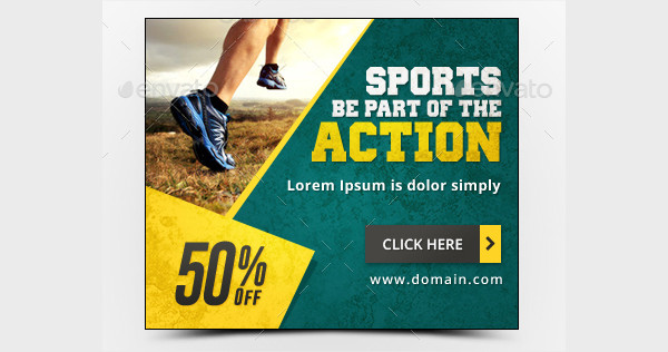 Popular Sports Banner Templates