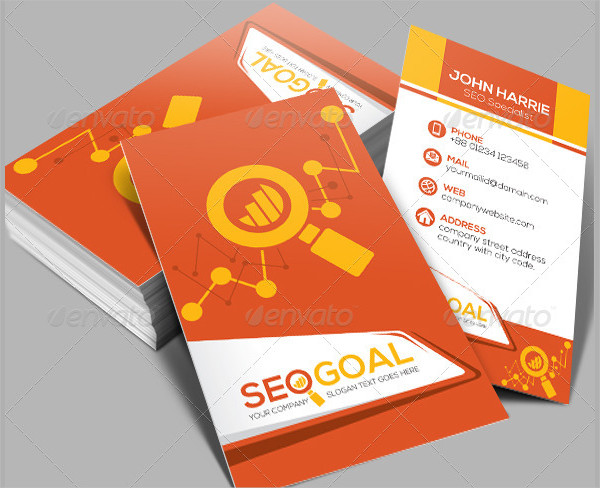 Search Engine Optimization Business Cards