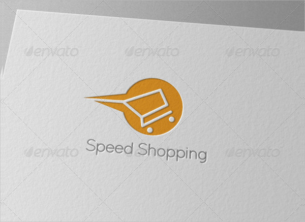 Speed Shopping Gallery Logo Template