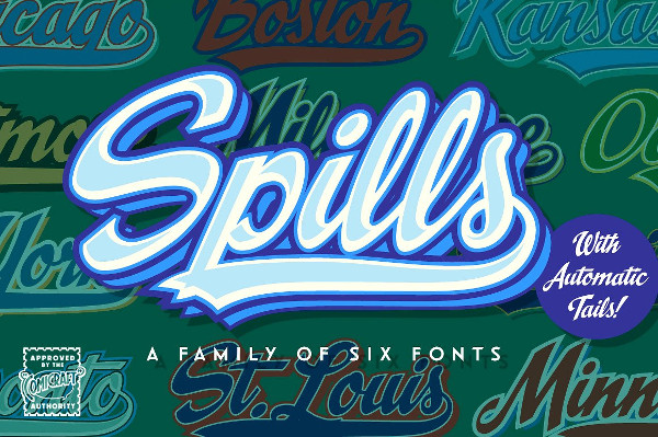 Spills Comic Font