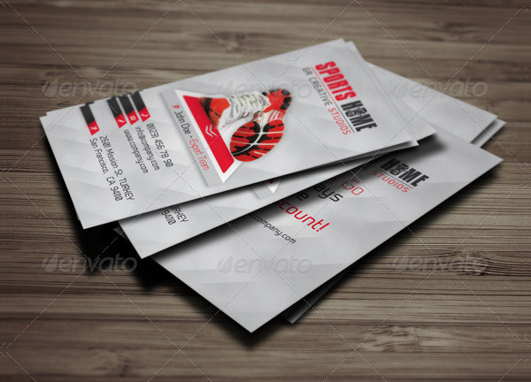 Sports House Business Card Template