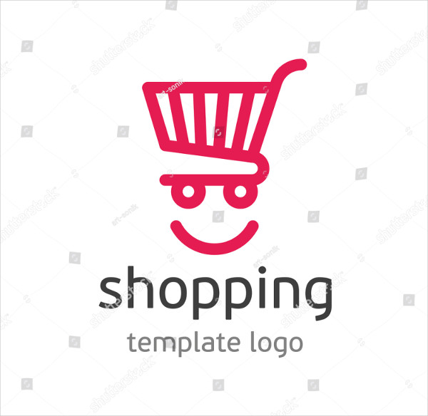 Colorful Shopping Center Logo Template