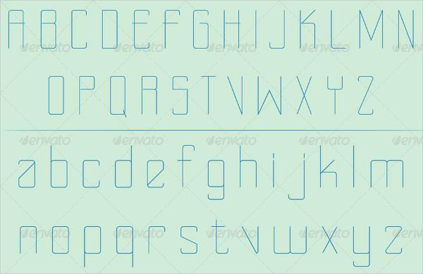 Thin Handwritten Font