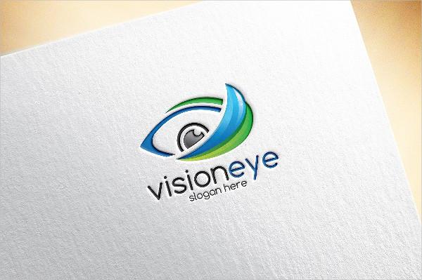 Vision Eye Logo Template