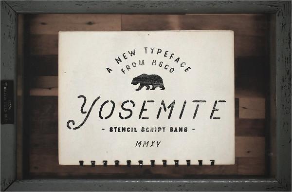 Printable Stencil Fonts