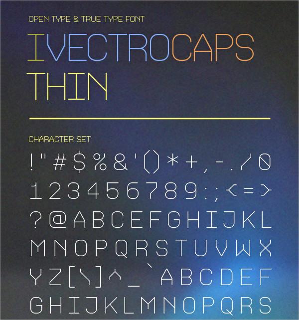 Thin Modern Fonts