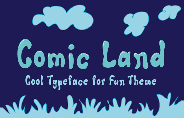 Best Comic Land Fonts