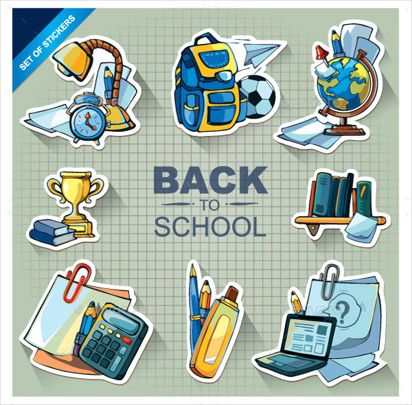 Best Back to School Icon Set