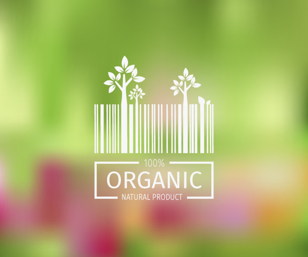 Natural Product Background Free Vector