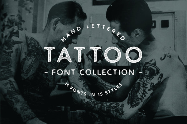 Big Tattoo Fonts Collection