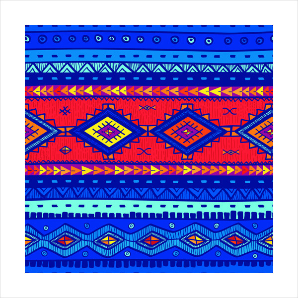 Ethnic Style Tribal Patterns Free