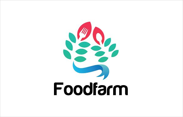 Food Farm Logo Template