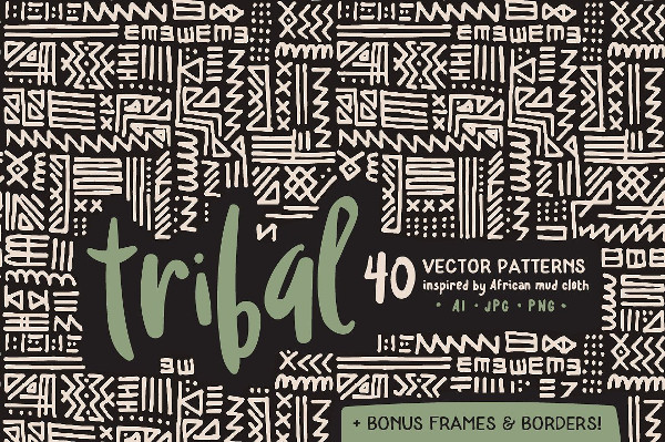 Handmade Tribal Pattern Pack