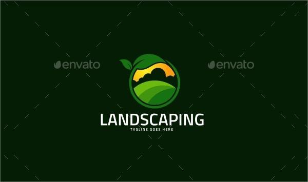 Landscaping Farming Logo