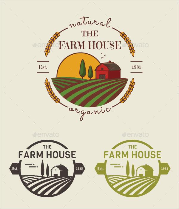 Popular Family Farm Logos