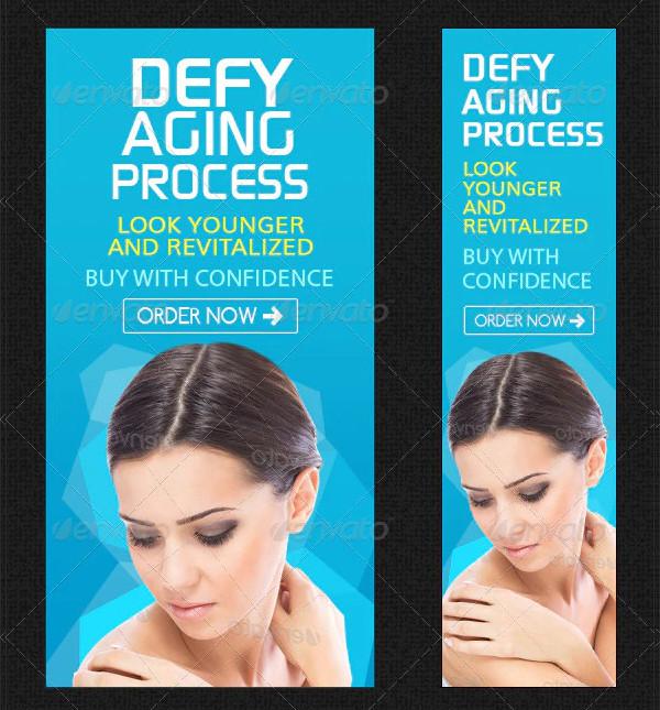Skin Care Banner Set